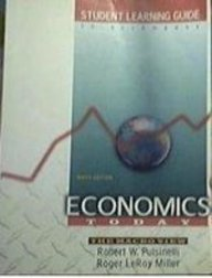 9780673980595: Student Learning Guide to Accompany Economics Today: The Macro View