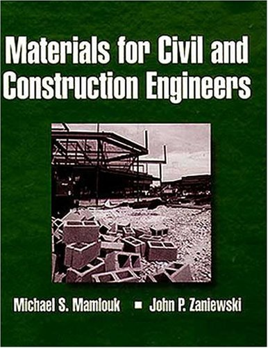 9780673981875: Materials for Civil and Construction Engineers