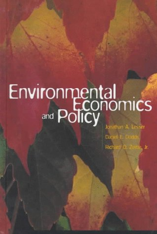 9780673982100: Environmental Economics and Policy (Addison-Wesley Series in Economics)