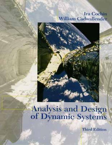 9780673982582: Analysis and Design of Dynamic Systems (3rd Edition)