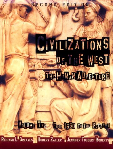 9780673982834: Civilizations of the West, Volume II: From 1660 to the Present (2nd Edition)