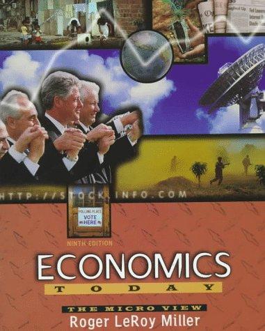 9780673985408: Economics Today: The Micro View (Series in Economics)