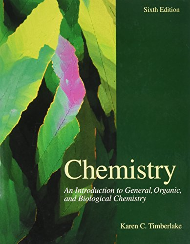 9780673990549: Chemistry: An Introduction to General, Organic, and Biological Chemistry