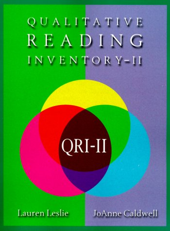 9780673990860: The Qualitative Reading Inventory (2nd Edition)