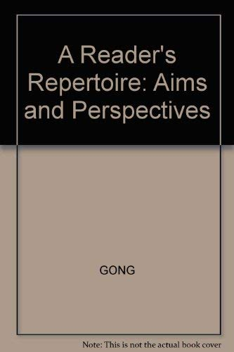 9780673991898: A Reader's Repertoire: Aims and Perspectives