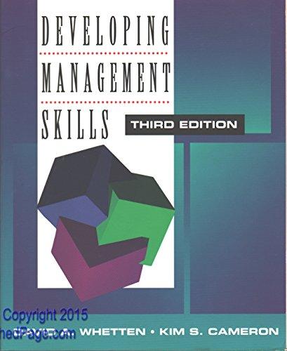 9780673992468: Developing Management Skills