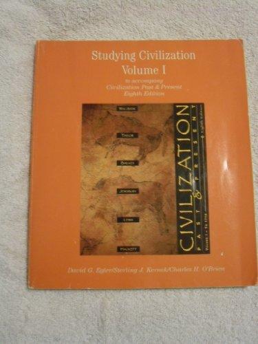 Study Guide to Accompany Civilization Past Present,8e,