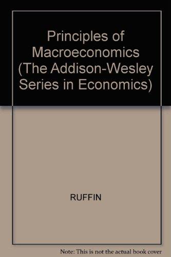 9780673994912: Principles of Macroeconomics (The Addison-Wesley Series in Economics)
