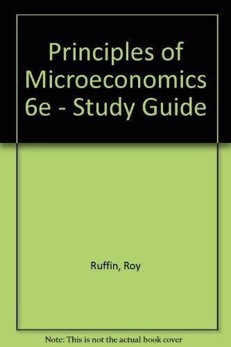 Study Guide to Accompany Principles of Microeconomics: Jeffrey Parker