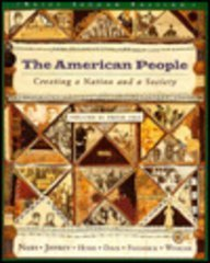 9780673995285: The American People: Creating a Nation and a Society: From 1865 (American People (Addison-Wesley))
