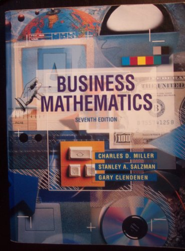 9780673995513: Business Mathematics