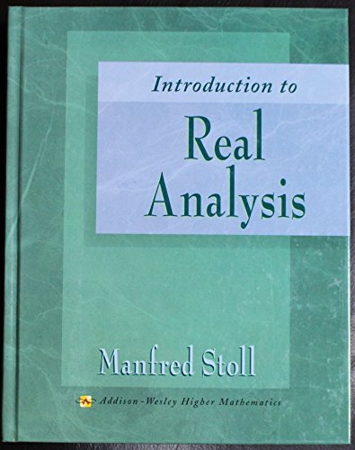 9780673995896: Introduction to Real Analysis