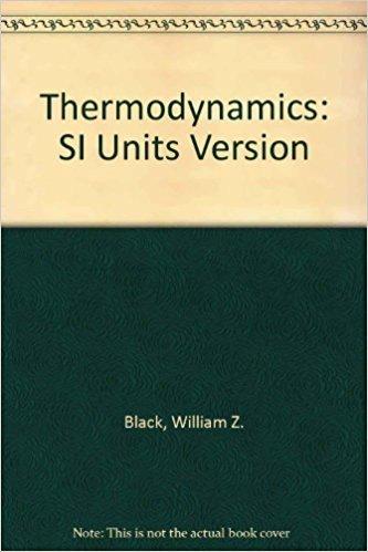 9780673996459: Thermodynamics: Si Version