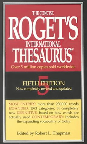 9780673997067: Concise Rogets International Thesaurus