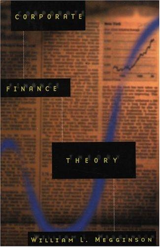 9780673997654: Corporate Finance Theory