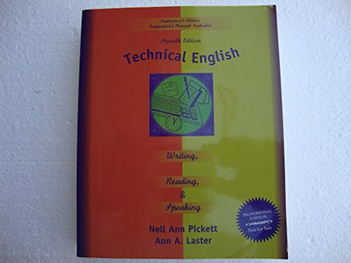 9780673997951: Technical English : Writing, Reading and Speaking