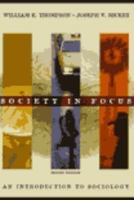 9780673998293: Society in Focus: An Introduction to Sociology