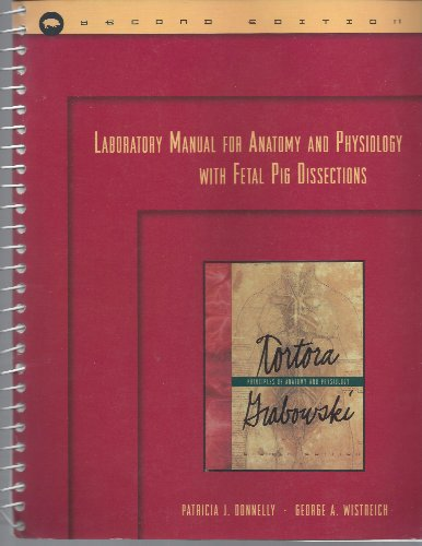 9780673999405: Laboratory Manual for Anatomy and Physiology: With Fetal Pig Dissections