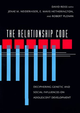 9780674000544: The Relationship Code: Deciphering Genetic and Social Influences on Adolescent Development (Adolescent Lives)