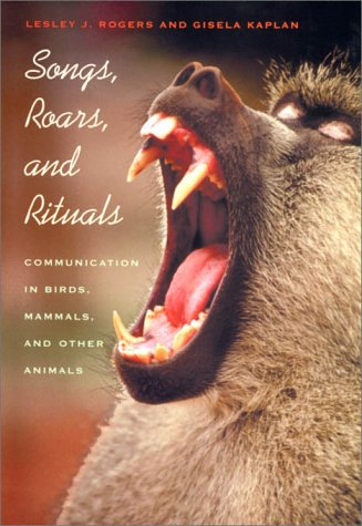 9780674000582: Songs, Roars, and Rituals:  Communication in Birds, Mammals, and Other Animals