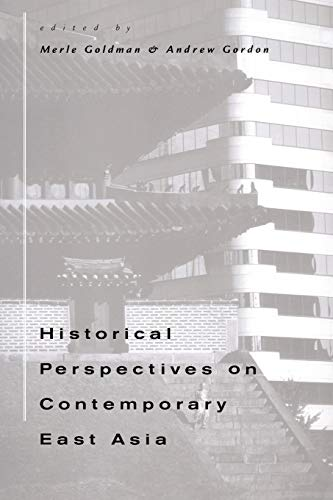 9780674000988: Historical Perspectives on Contemporary East Asia