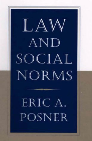 9780674001565: Law and Social Norms