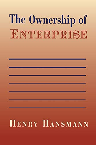 9780674001718: The Ownership of Enterprise