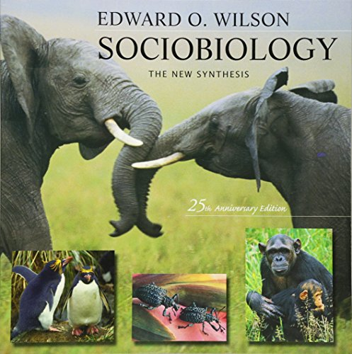 9780674002357: Sociobiology: The New Synthesis, Twenty-Fifth Anniversary Edition