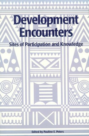 9780674002609: Development Encounters