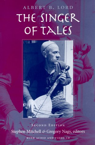 9780674002838: The Singer of Tales (Harvard Studies in Comparative Literature)