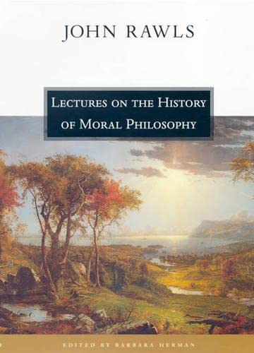9780674002968: Lectures on the History of Moral Philosophy