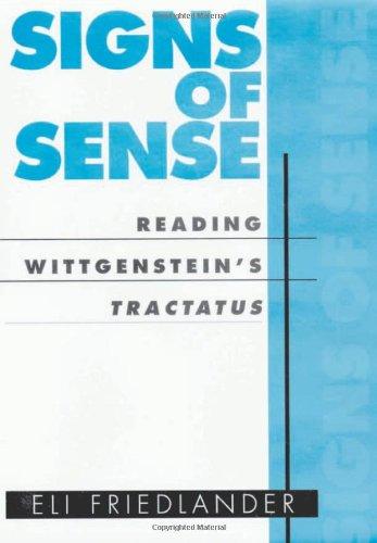 9780674003095: Signs of Sense : Reading Wittgenstein's Tractatus