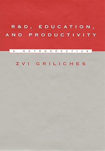9780674003439: R&D, Education, and Productivity: A Retrospective