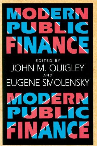 9780674004207: Modern Public Finance