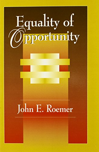 9780674004221: Equality of Opportunity