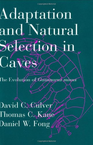 Adaptation and Natural Selection in Caves: The: Culver, David C.,