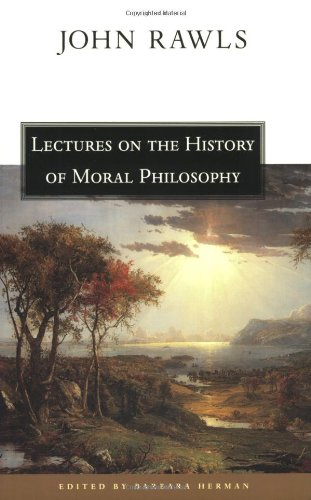 9780674004429: Lectures on the History of Moral Philosophy