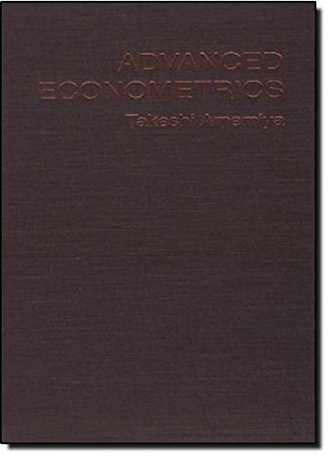 9780674005600: Advanced Econometrics