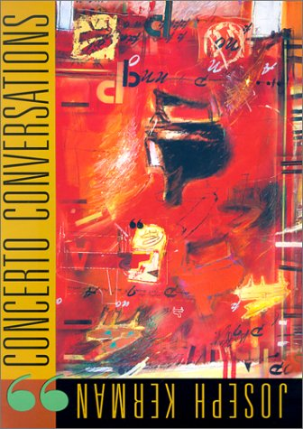 9780674006737: Concerto Conversations: The Charles Eliot Norton Lectures 1997-98 (With a 68-minute CD)