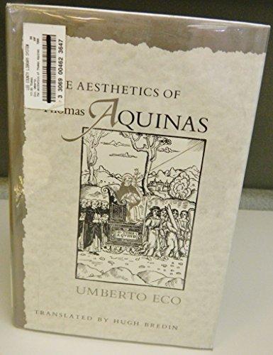 9780674006751: Eco: the Aesthetics of Thomas Aquinas