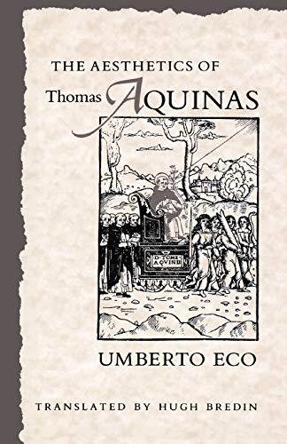 9780674006768: The Aesthetics of Thomas Aquinas