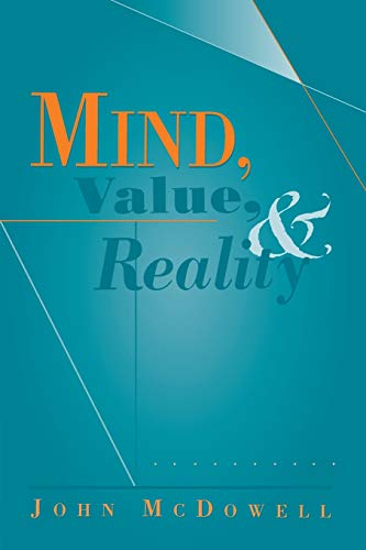 9780674007130: Mind, Value, and Reality