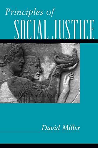 9780674007147: Principles of Social Justice