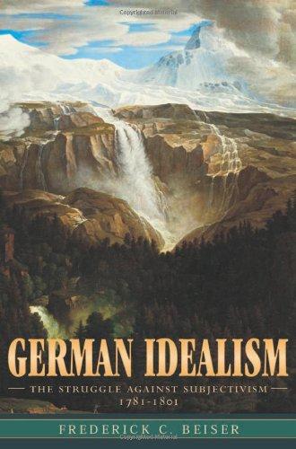 9780674007697: German Idealism: The Struggle against Subjectivism, 1781-1801