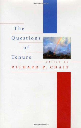The Questions of Tenure: Philip G. Altbach,