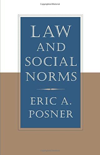 9780674008144: Law and Social Norms