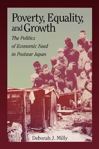9780674009585: Poverty, Equality, and Growth: The Politics of Economic Need in Postwar Japan (Harvard East Asian Monographs)
