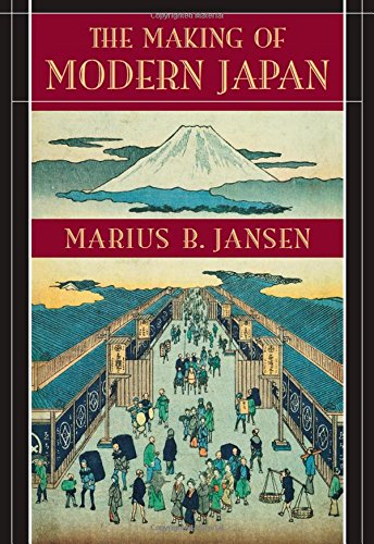 9780674009912: The Making of Modern Japan