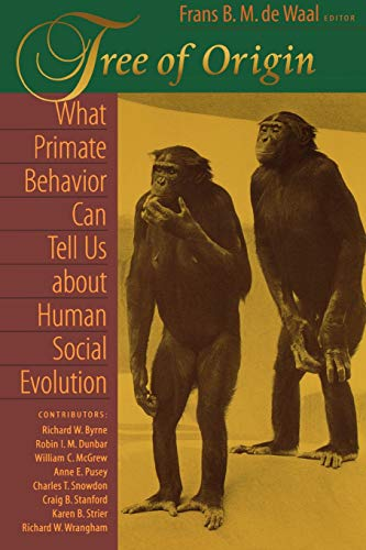 9780674010048: Tree of Origin: What Primate Behavior Can Tell Us about Human Social Evolution