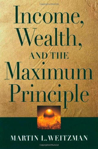 9780674010444: Income, Wealth and the Maximum Principle